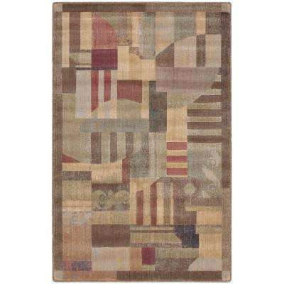 Somerset Multicolor 3 ft. 6 in. x 5 ft. 6 in. Area Rug