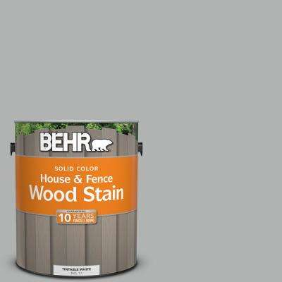 1 gal. #780F-4 Sparrow Solid House and Fence Wood Stain