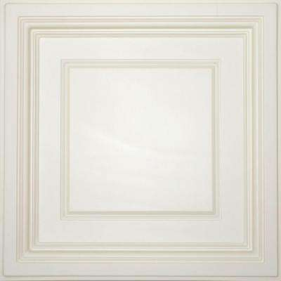 Madison Sand 2 ft. x 2 ft. Lay-in Coffered Ceiling Panel (Case of 6)