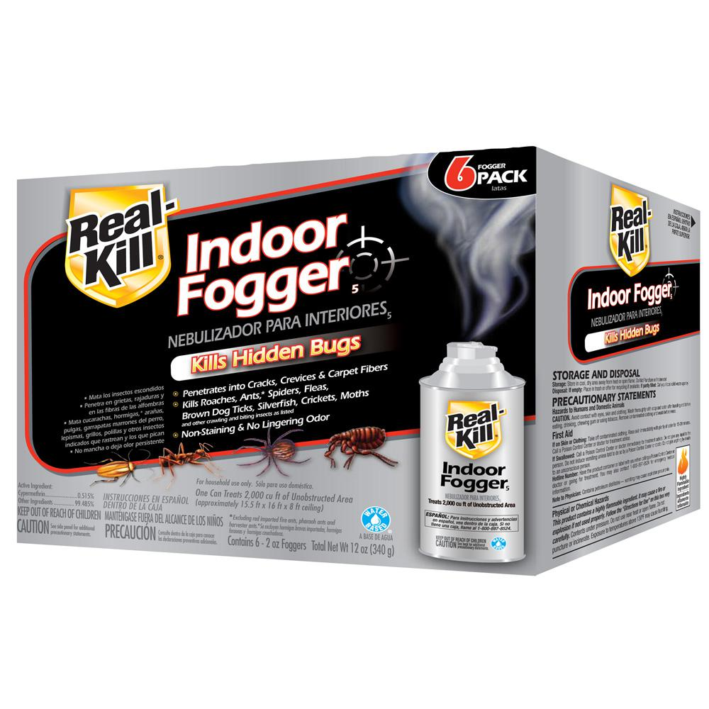 Real-Kill 2 oz  Ready-to-Use Indoor Fogger (6-Pack)