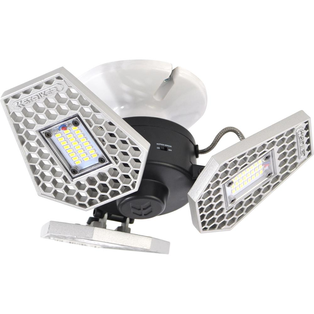 Striker trilight 3000 lumen motion sensor ceiling light