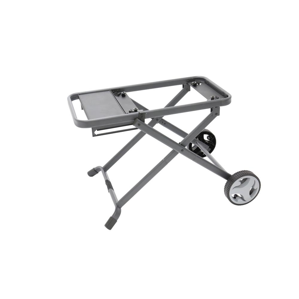 LANDMANN Pantera Foldable Cart, Black Foldable cart for Pantera 1.0 and 2.0 gas tailgating grills. Sturdy folding design with safety locking system. Easily collapse for transport and large wheels make is easy to roll over rough terrain. Color: Black.