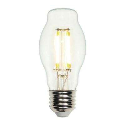 40W Equivalent Soft White (2,700K) Decorative BT15 Medium Base Dimmable Filament LED Light Bulb