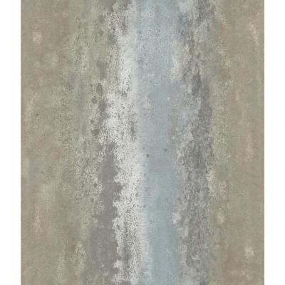 28.18 sq. ft. Oxidized Metal Peel and Stick Wallpaper