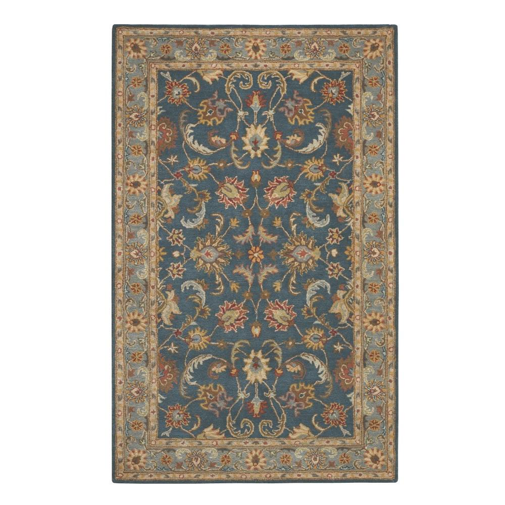 Home Decorators Collection Bronte Indigo 8 Ft X 11 Ft Area Rug 0255840360 The Home Depot