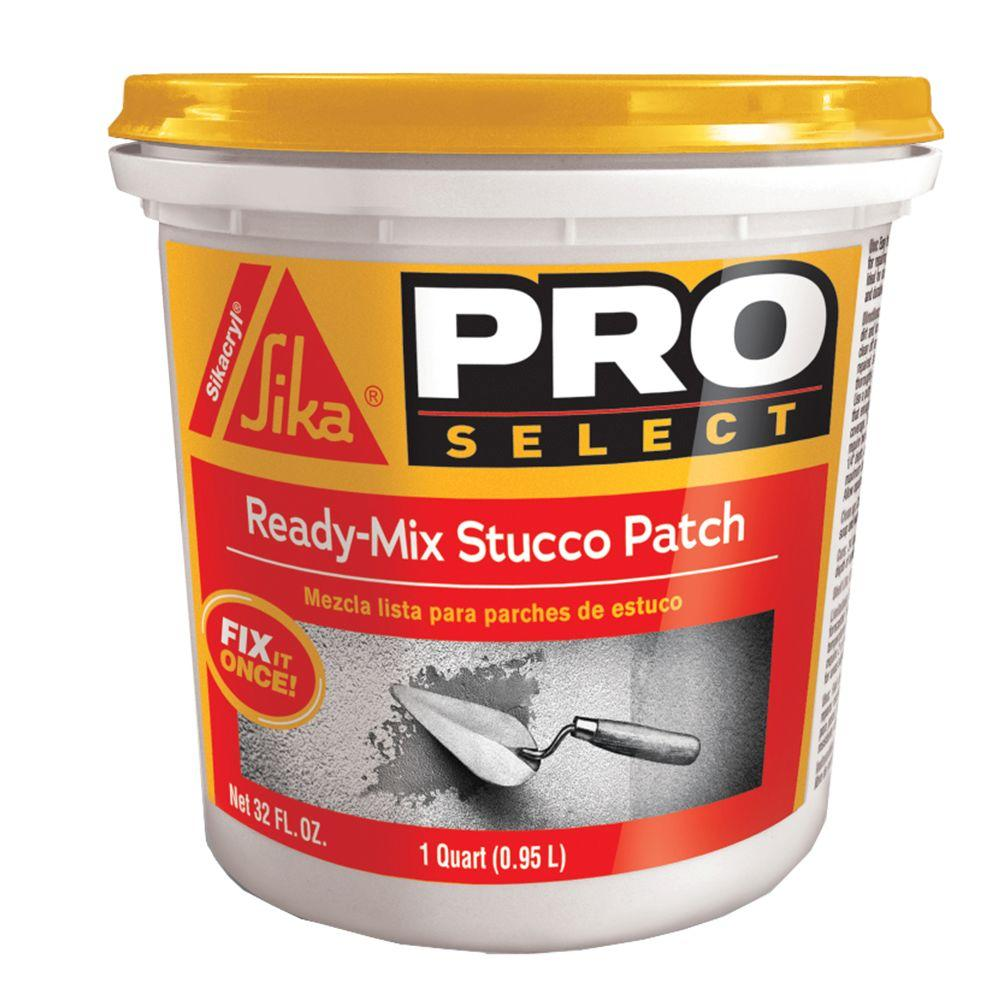 Sika 1 Qt Ready Mix Concrete Stucco Patch