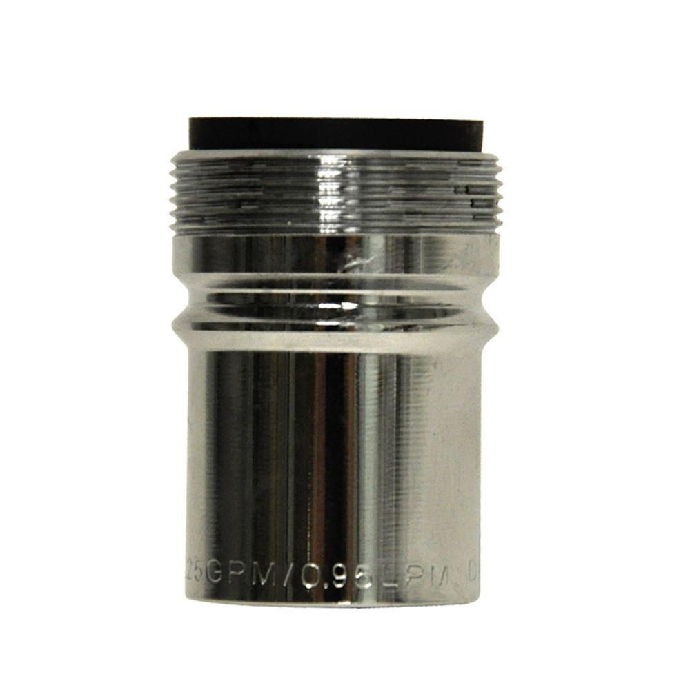 high flow faucet aerator. 15 16 In  27M X 55 64 27F 0 25 Aerator Flow Restrictor Faucet Parts Repair The Home Depot