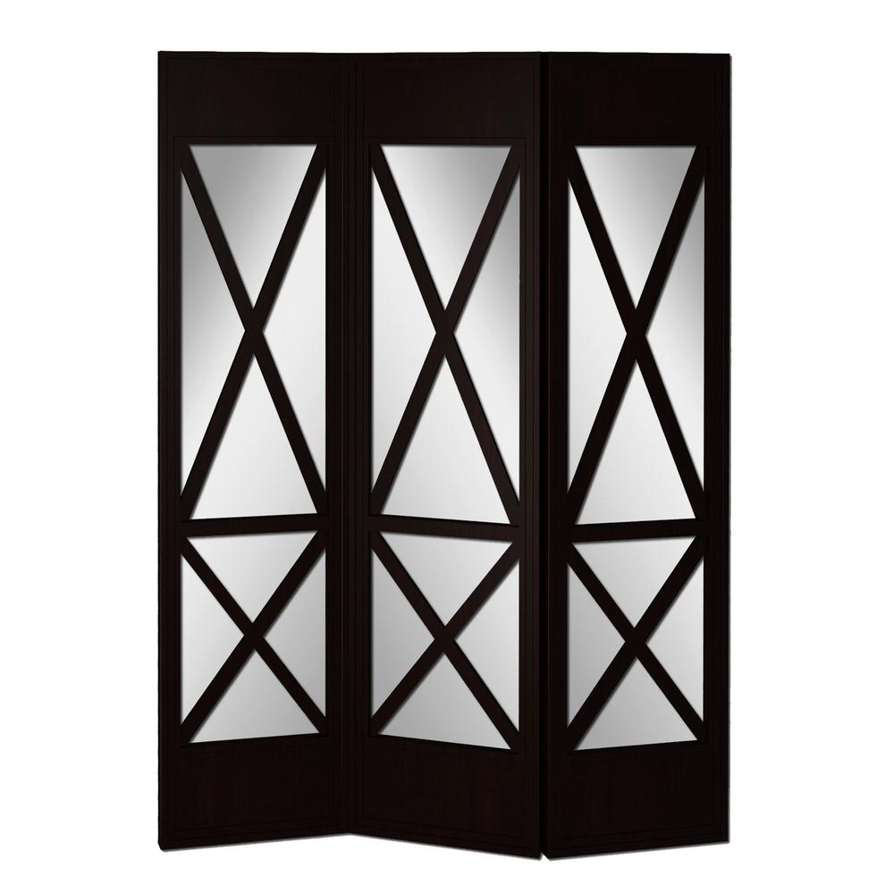 Screen Gems Black Panel Room Divider