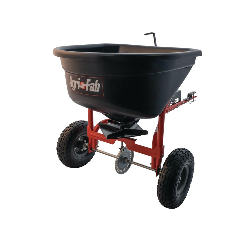 Agri-Fab 110 lb. Tow Broadcast Spreader