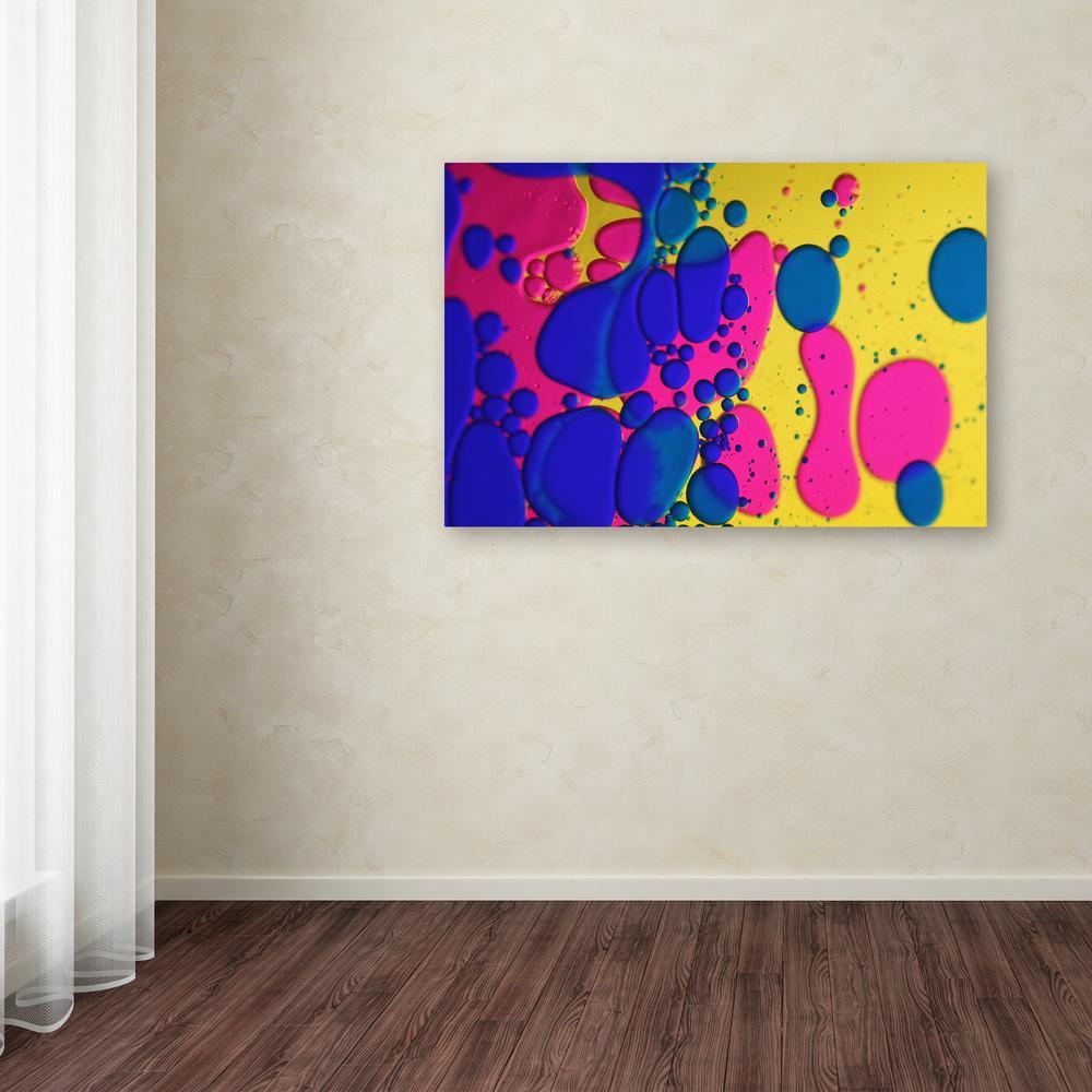 Trademark Fine Art 22 in. x 32 in. ''Colour Fun III''