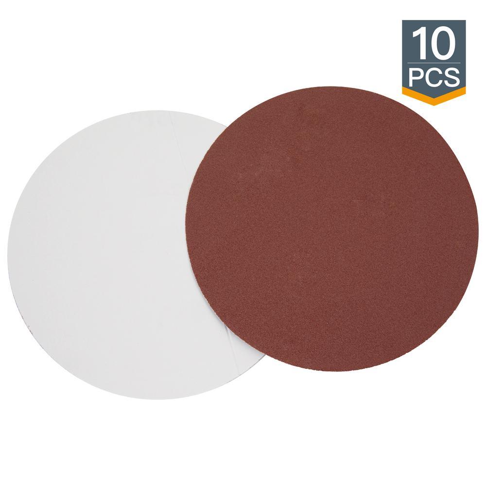 18 Inch 60 Grit Adhesive Back Aluminum Oxide metal Sanding Disc