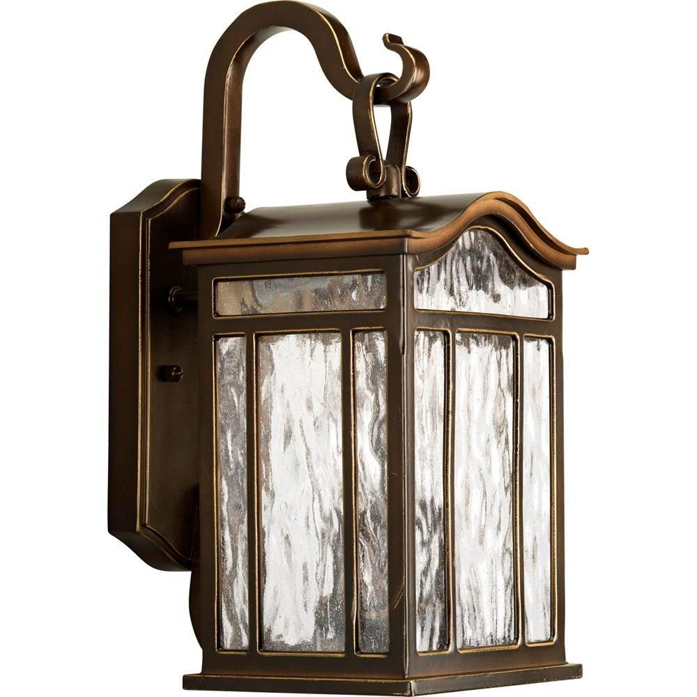 Progress Lighting Meadowlark Collection 2 Light Oil Rubbed Bronze Outdoor Wall Lantern P5716 108