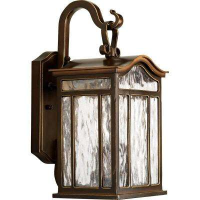 Meadowlark Collection 2-Light Oil-Rubbed Bronze Outdoor Wall Lantern