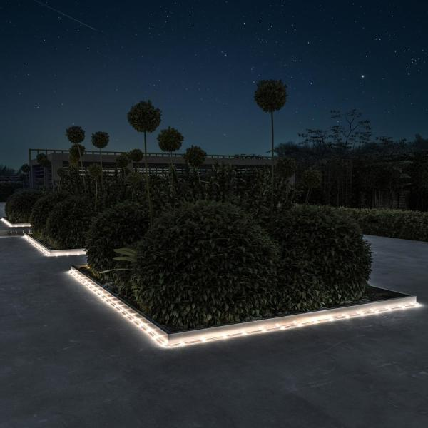 Warm White Integrated Led Solar Rope