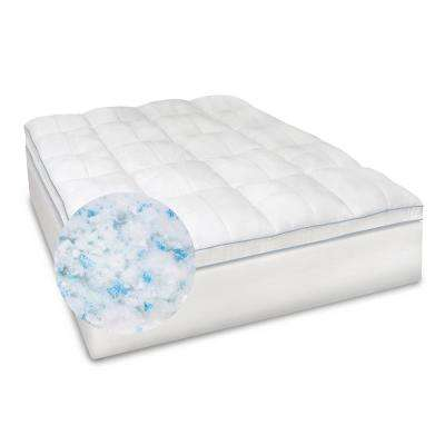 Blended Memory Foam King Mattress Topper