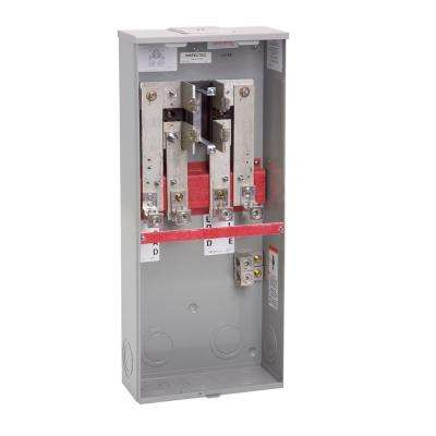 400 Amp 4 Terminal Ring-Type Link Bypass Overhead Meter Socket