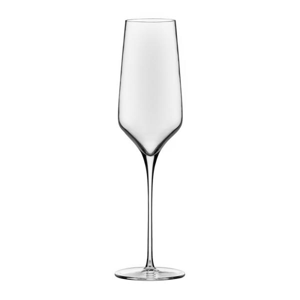bcc6e174021 Libbey Signature Greenwich 8.5 oz Champagne Flute Glass Set (4-Pack ...