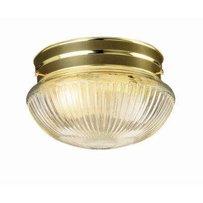 Millbridge 1-Light Polished Brass Ceiling Light