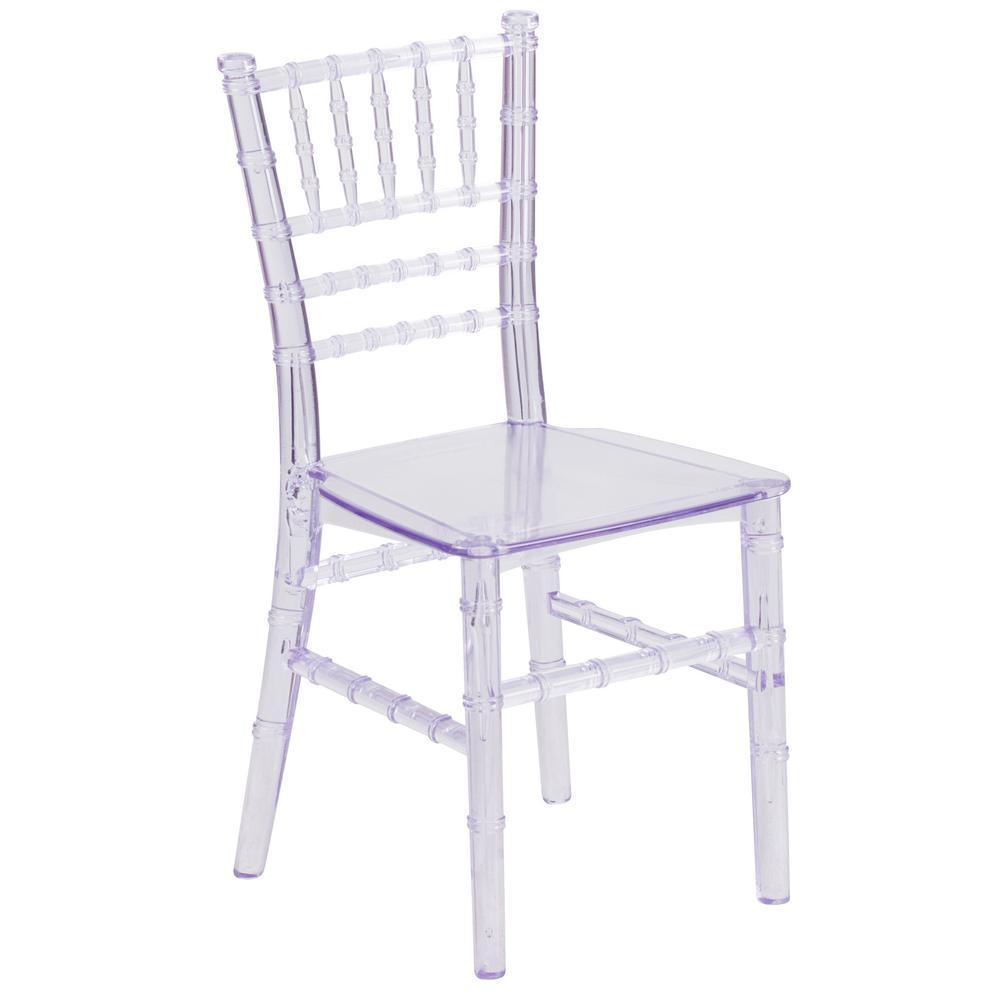 Clear Kids Chair