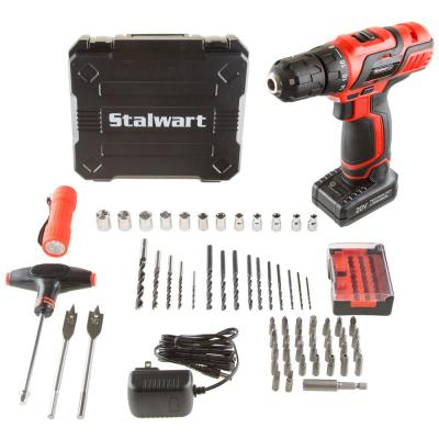 20-Volt Lithium Ion 3/8 in. Cordless Drill Set