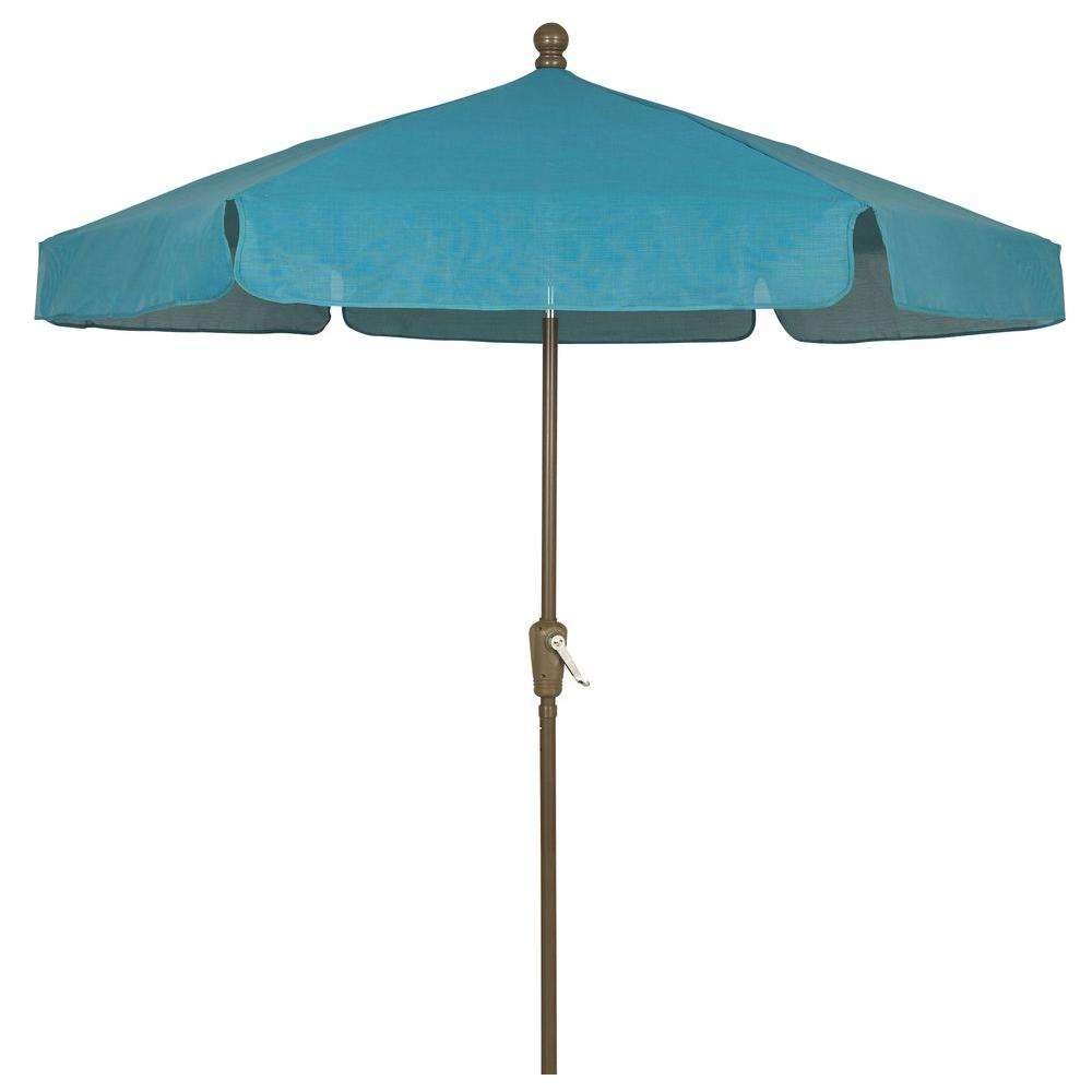 Fiberbuilt Umbrellas 7.5 Ft. Patio Umbrella In Teal