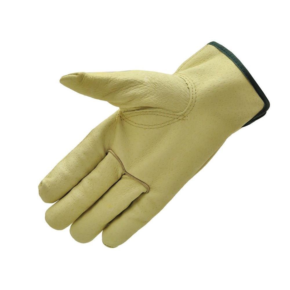 Grain Pigskin X-Large Leather Work Gloves