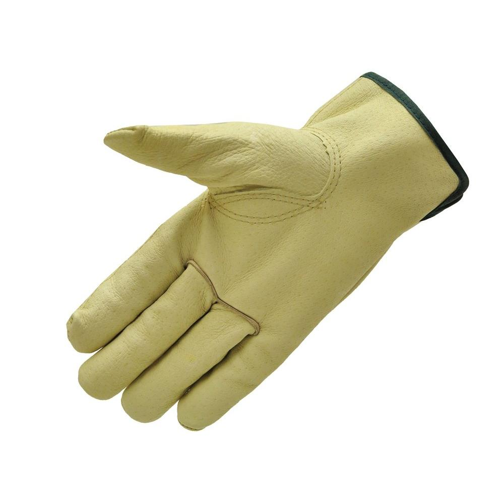 G & F Products Grain Pigskin X-Large Leather Work Gloves