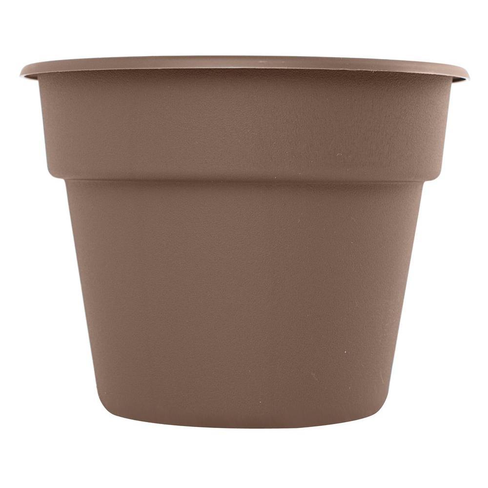 Bloem 14 in. Curated Dura Cotta Plastic Planter