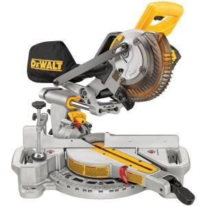 Dewalt 20-Volt MAX Lithium-Ion Cordless 7-1/4 inch Miter Saw with Battery 4Ah and Charger by DEWALT