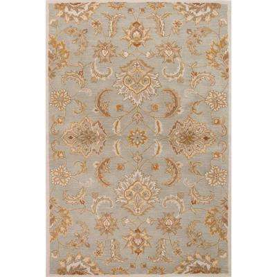 Hand-Tufted Jadeite 4 ft. x 8 ft. Oriental Area Rug
