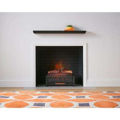 Wondrous Barkridge 20 5 In Infrared Electric Log Set Heater Home Interior And Landscaping Mentranervesignezvosmurscom