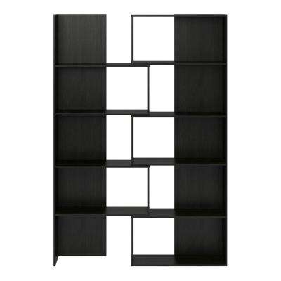 Fulcrum Midnight Onyx Expandable Open Bookcase