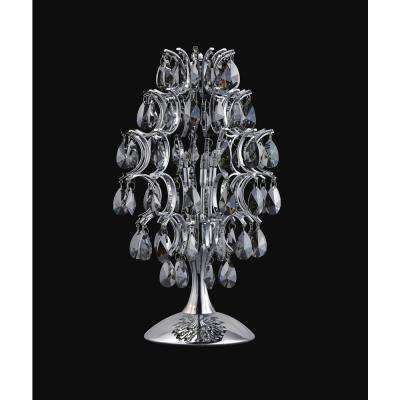 Charismatic 16 in. Chrome Table Lamp