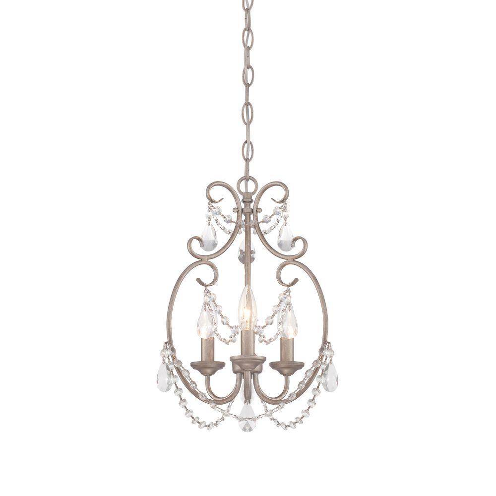 Designers fountain dahlia 3 light aged platinum mini chandelier 6205 designers fountain dahlia 3 light aged platinum mini chandelier arubaitofo Image collections