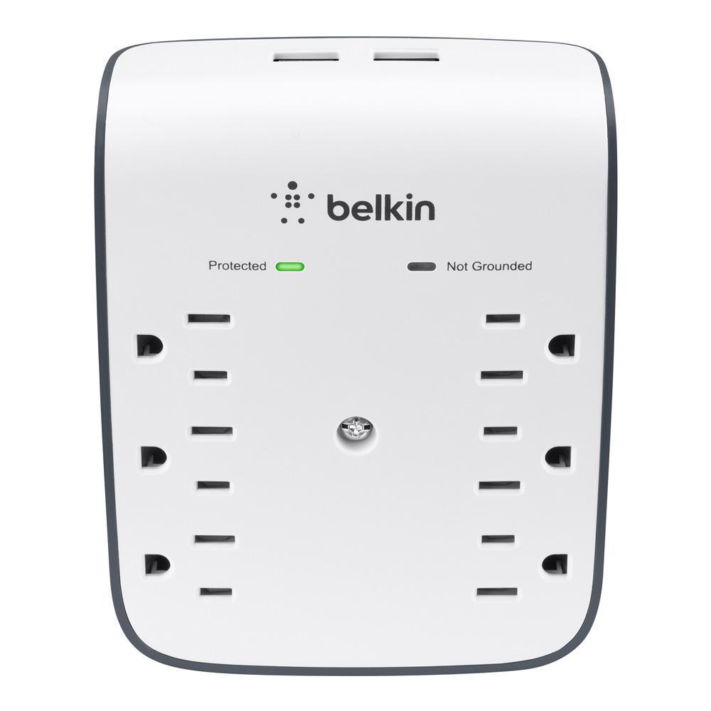 Belkin (10-Watt Combine SurgePlus USB Wall Mount