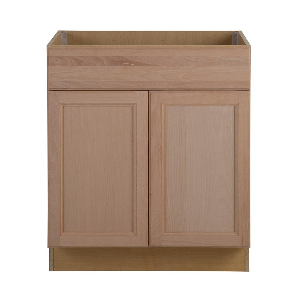 Unfinished Kitchen Cabinets. Easthaven Sink Base Cabinet Unfinished Wood  Kitchen Cabinets The Home Depot