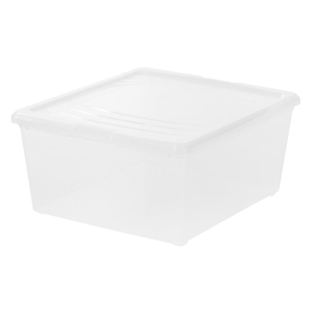 21 Qt. Modular Storage Box In Clear