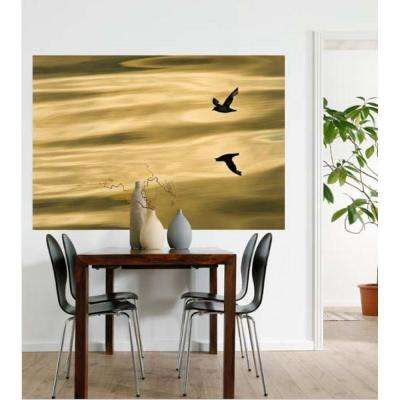 50 in. x 72 in. Reflection Wall Mural