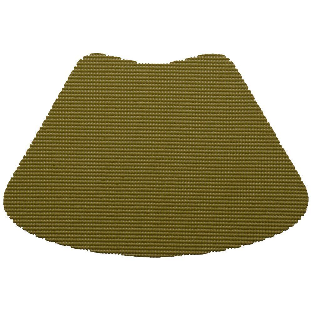 Kraftware Fishnet Wedge Placemat in Moss (Set of 12) by Kraftware