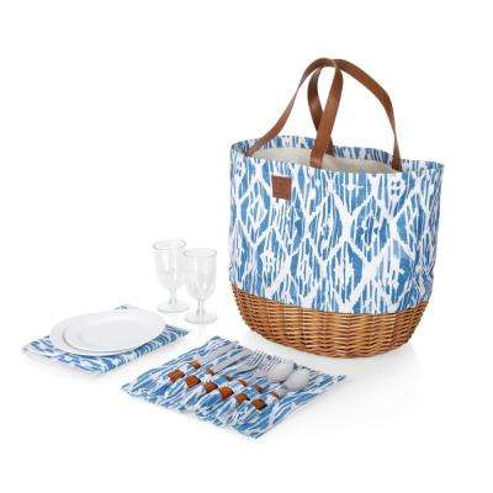 Promenade Morrocan Watercolor Picnic Basket