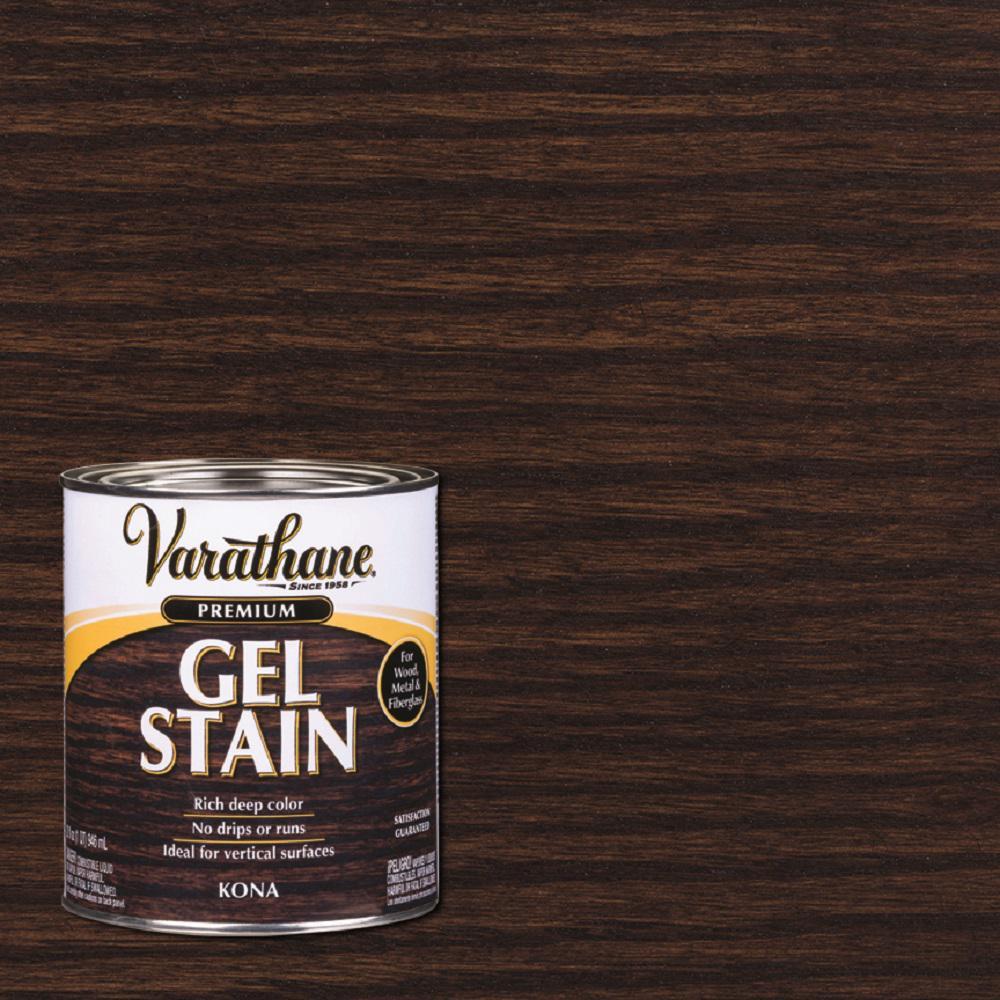 Varathane 1 Qt. Kona Wood Interior Gel Stain (2-Pack)