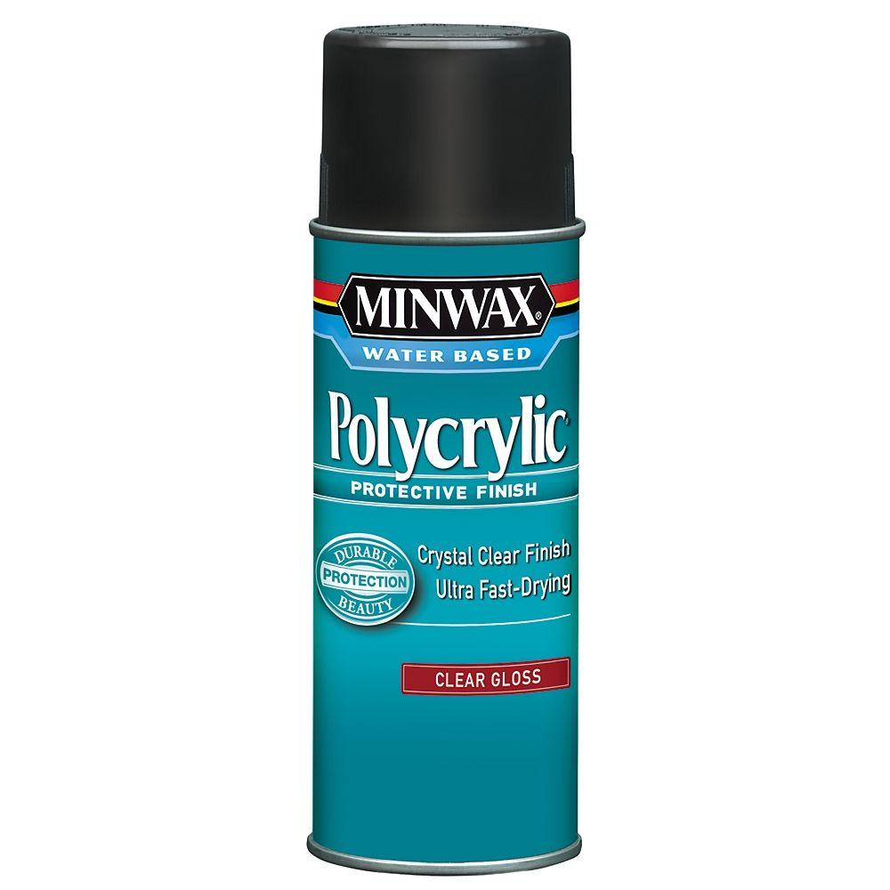 11.5 oz. Gloss Polycrylic Protective Finish Aerosol Spray