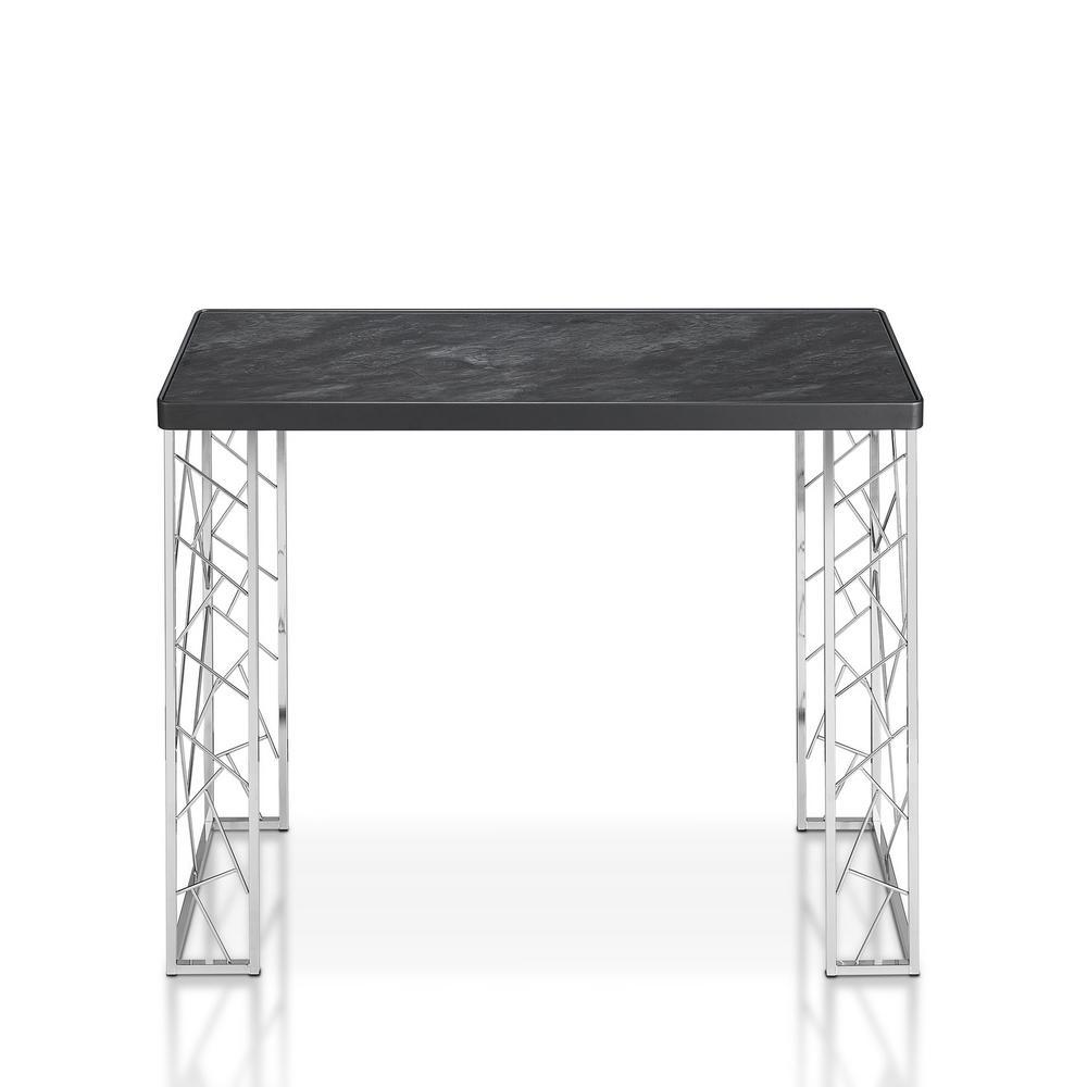 Raymond Faux Marble Sofa Table