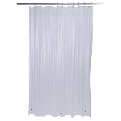 Heavy Grommet Shower Liner in Clear