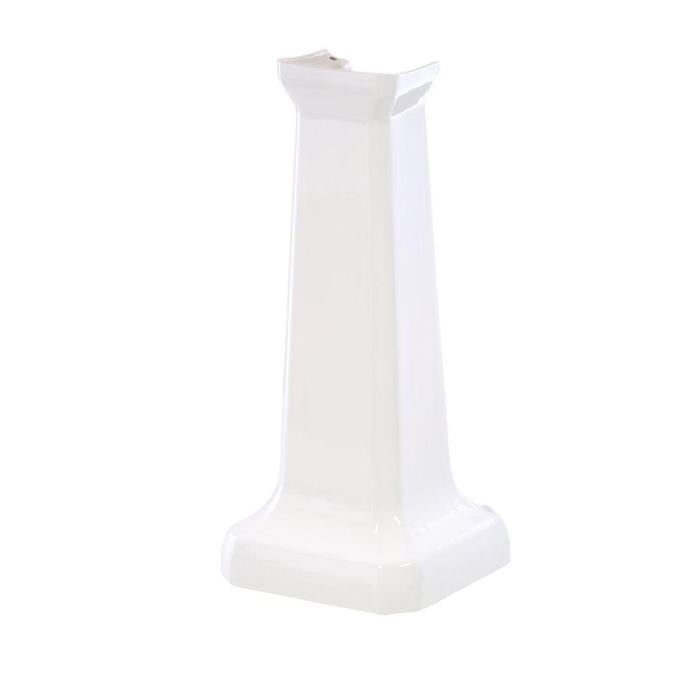 St. Thomas Creations Neo-Venetian/Richmond Pedestal Lavatory in White