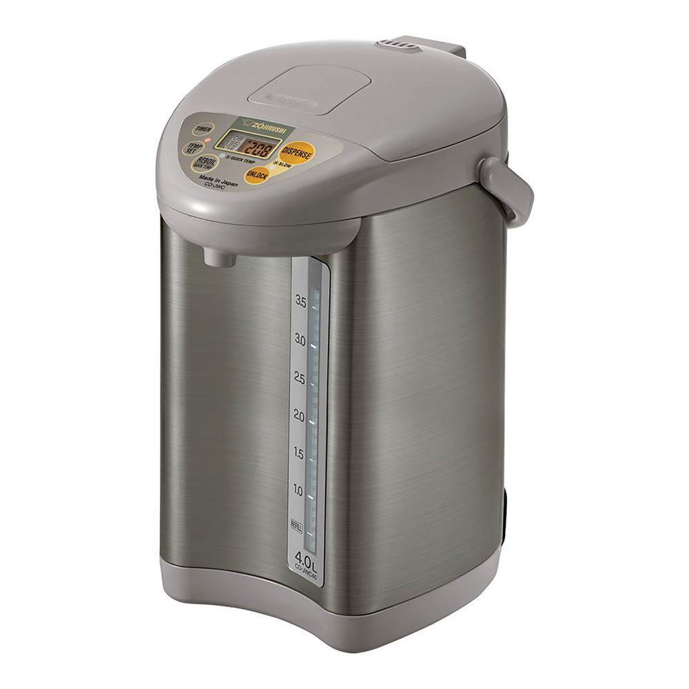Silver Gray Micom Water Boiler & Warmer CD-JWC40