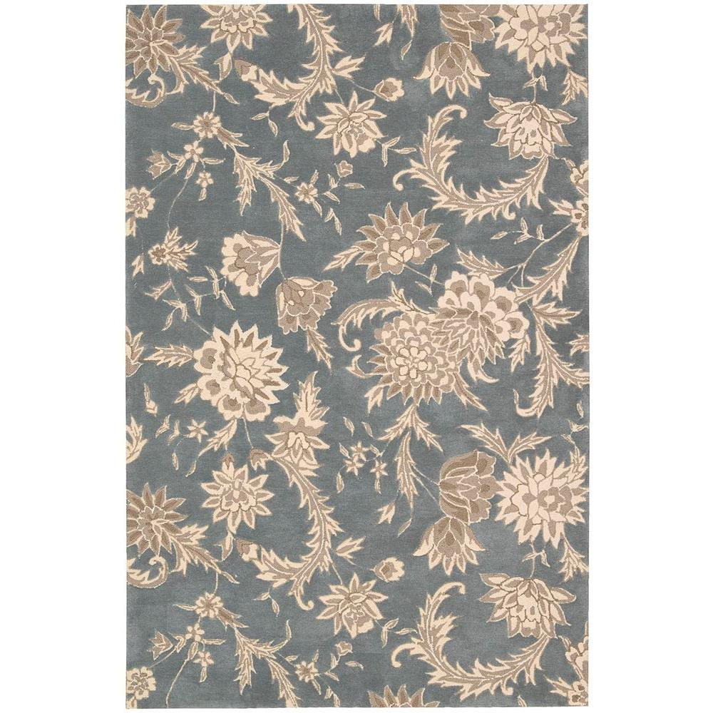 Gatsby Slate 5 ft. x 7 ft. 6 in. Area Rug