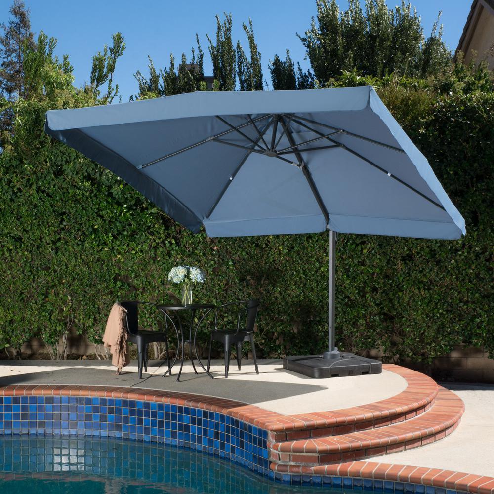 Merida 9 ft. Cantilever Patio Umbrella in Lavender