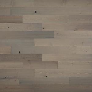 1/8 in. x 4 in. x 12-42 in. Peel and Stick Gray Wooden Decorative Wall Paneling (10 sq. ft./Box)