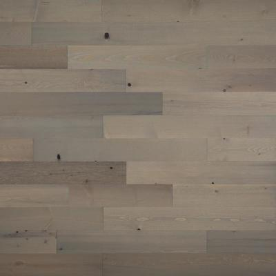 1/8 in. x 4 in. x 12-42 in. Peel and Stick Gray Wooden Decorative Wall Paneling (40 sq. ft./Box)